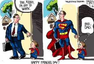 Father's Day Superhero