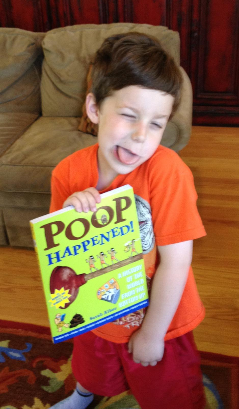 Poop Happens, the #1 book on going #2