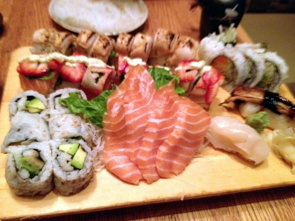 Birthday sushi!