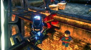 Lego Batman, Robin and Superman