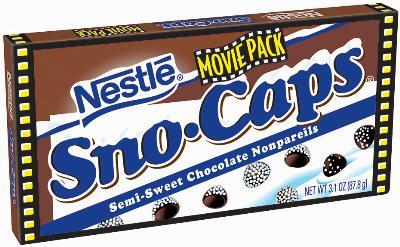 Movie Pack of Nestle Sno-Caps