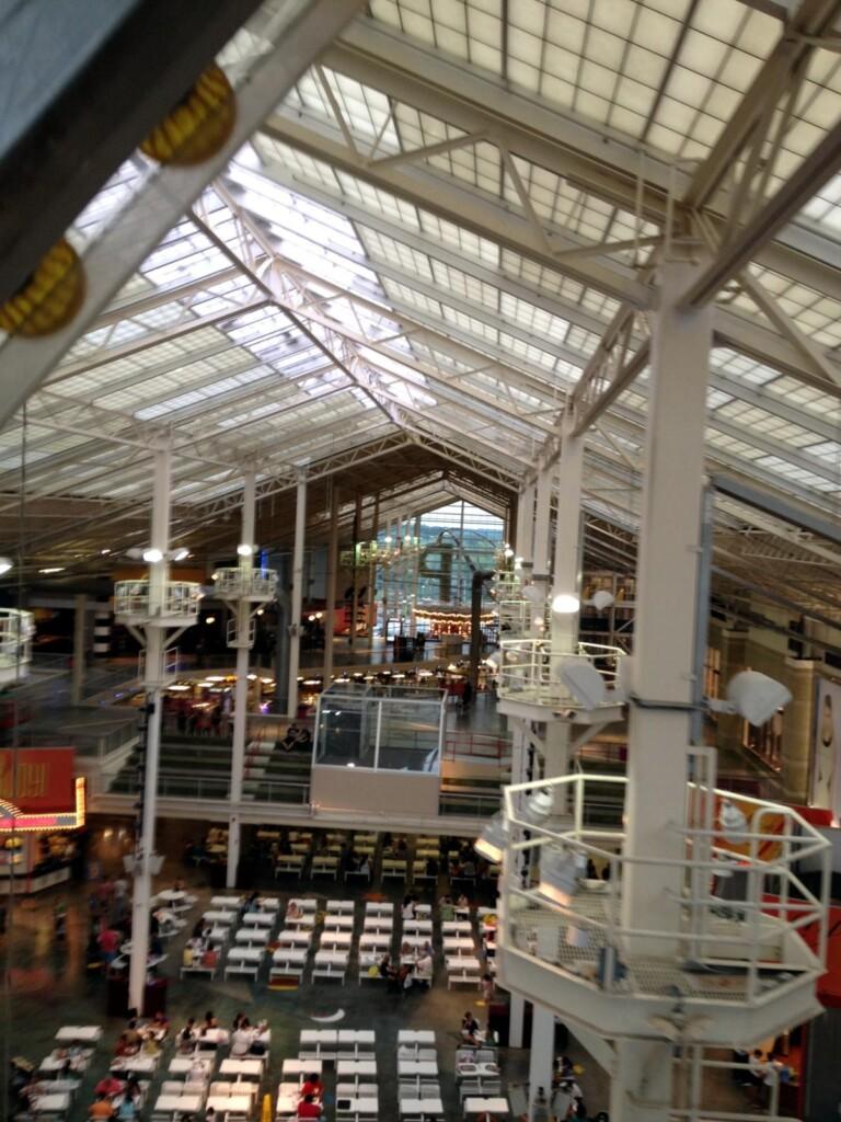 Ferris Wheel in Mall