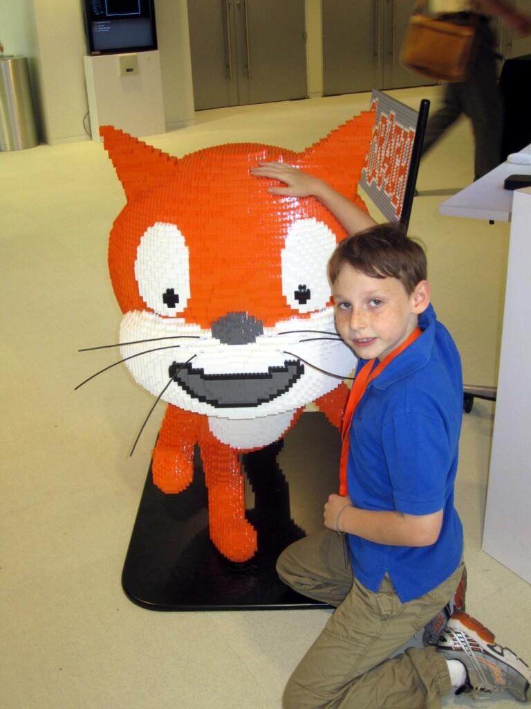 Orange Cat at MIT