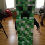 Happy Halloween from Minecraft's Creeper