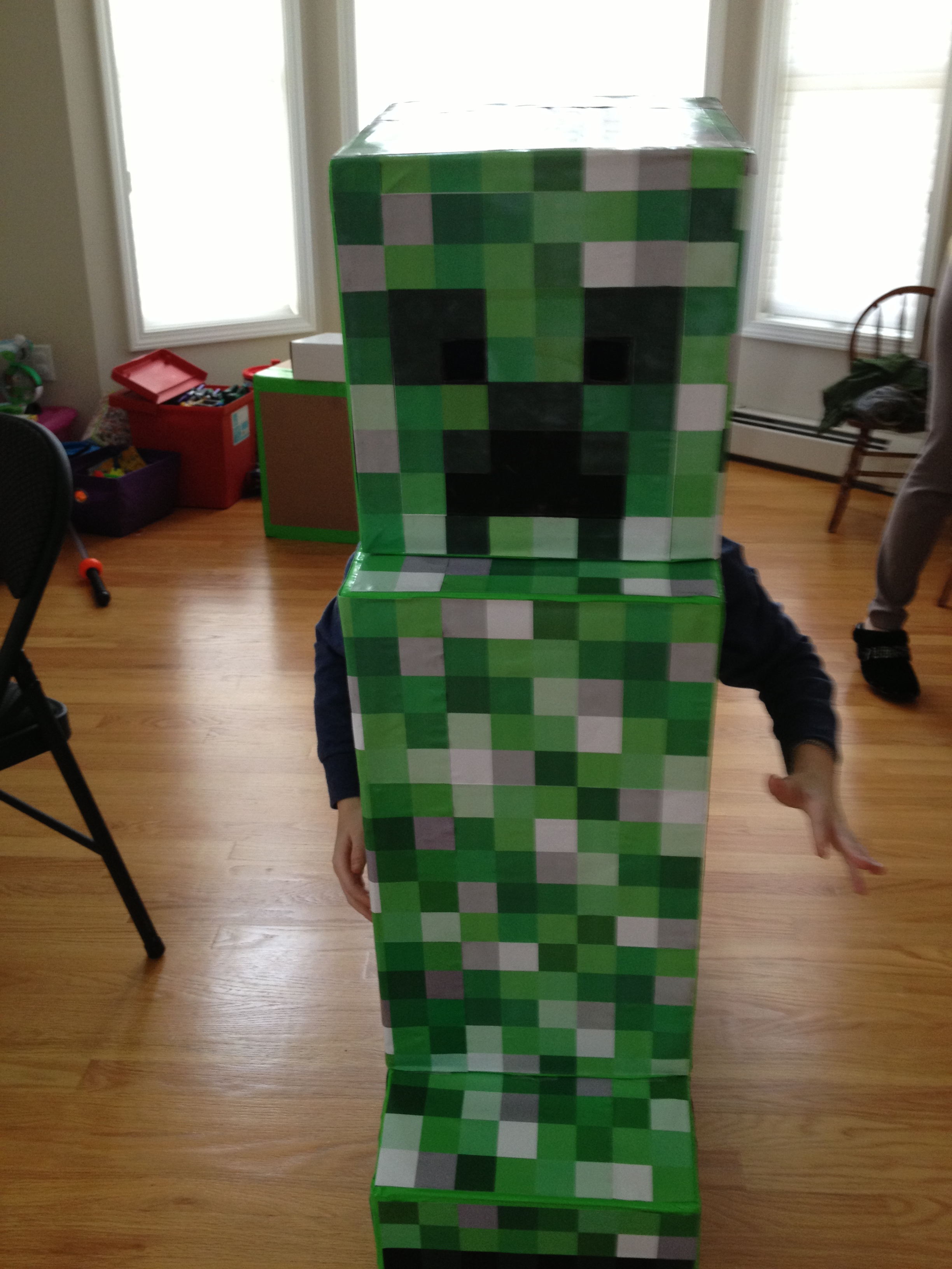 Happy Halloween from Minecraft's Creeper- Mommy's Busy, Go Ask Daddy