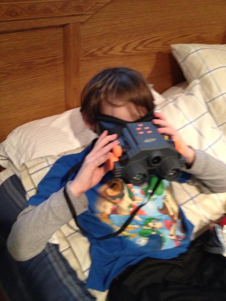 Jason Nerf camera