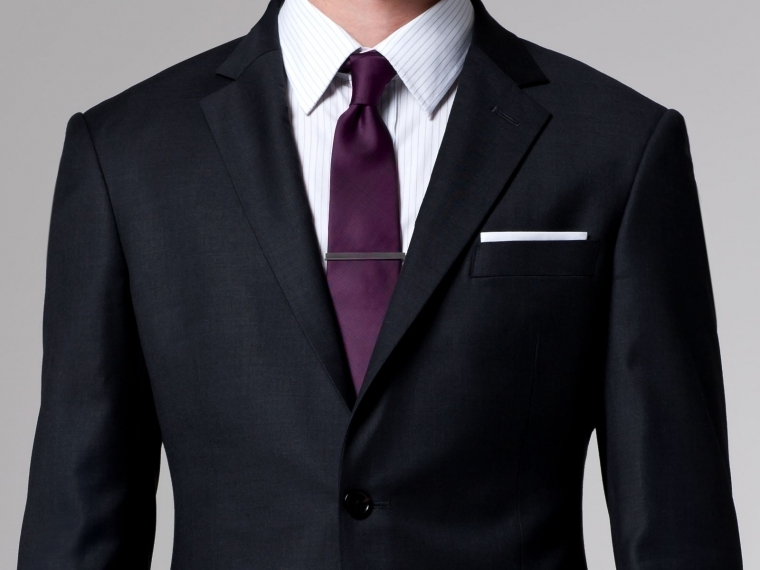 The Essential Charcoal Suit