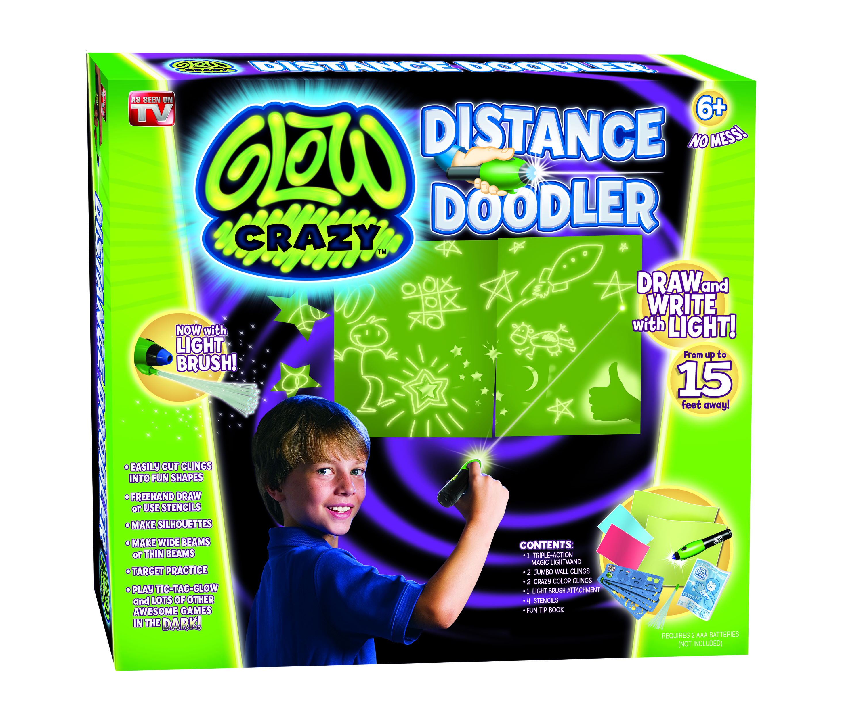 Glow Crazy Distance Doodler_Techno Source