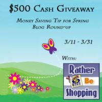 $500 Spring Giveaway