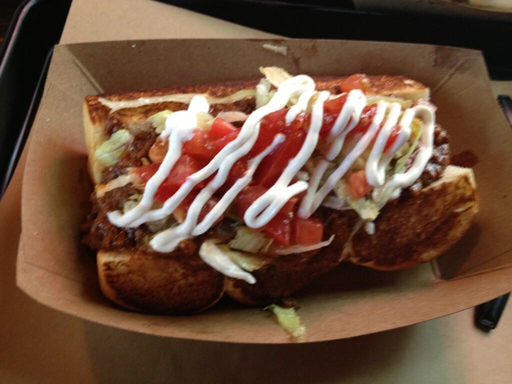 The Amigo hot dog