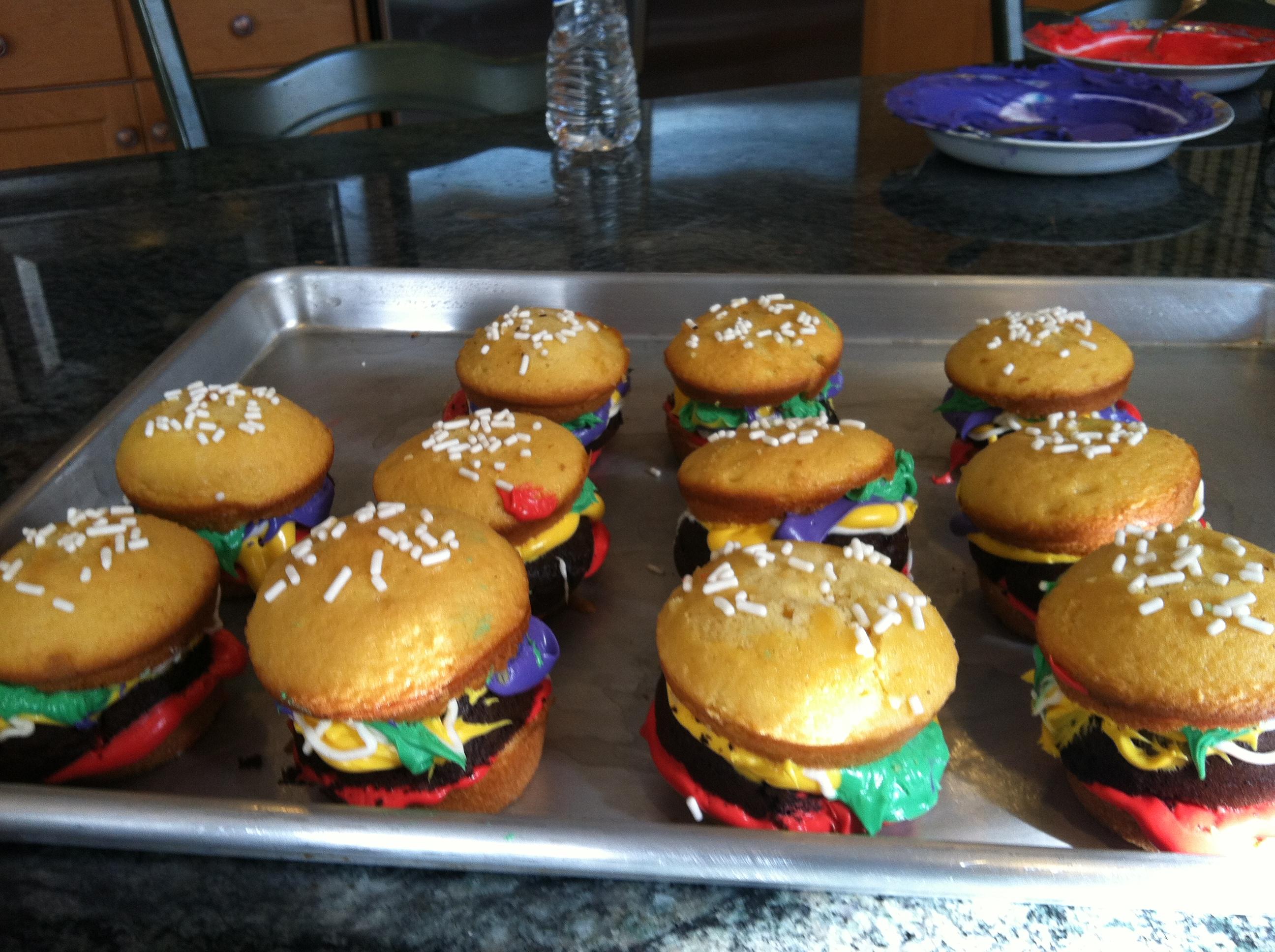 How To Make Krabby Patty Cupcakes Thatd Even SpongeBob SquarePants Jealous