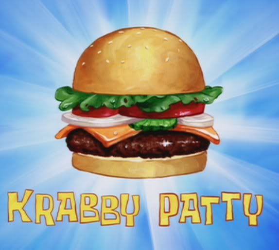 SpongeBob SquarePants Krabby Patty