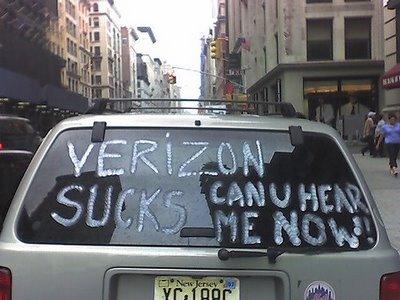 Verizon Wireless sucks