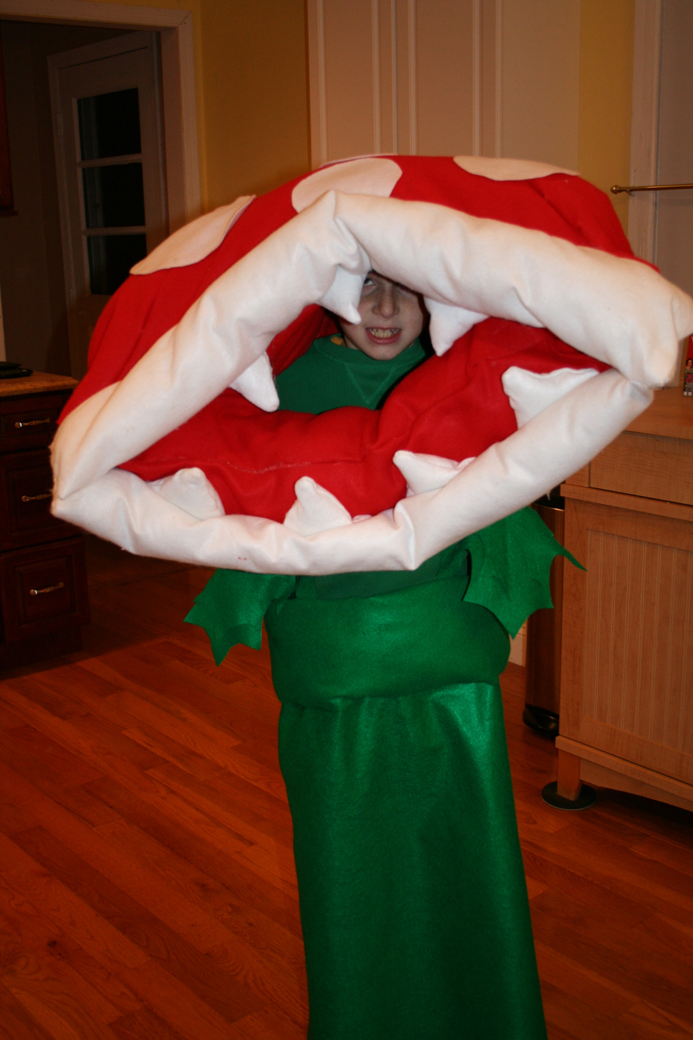 Super Mario Bros. Piranha Plant costume