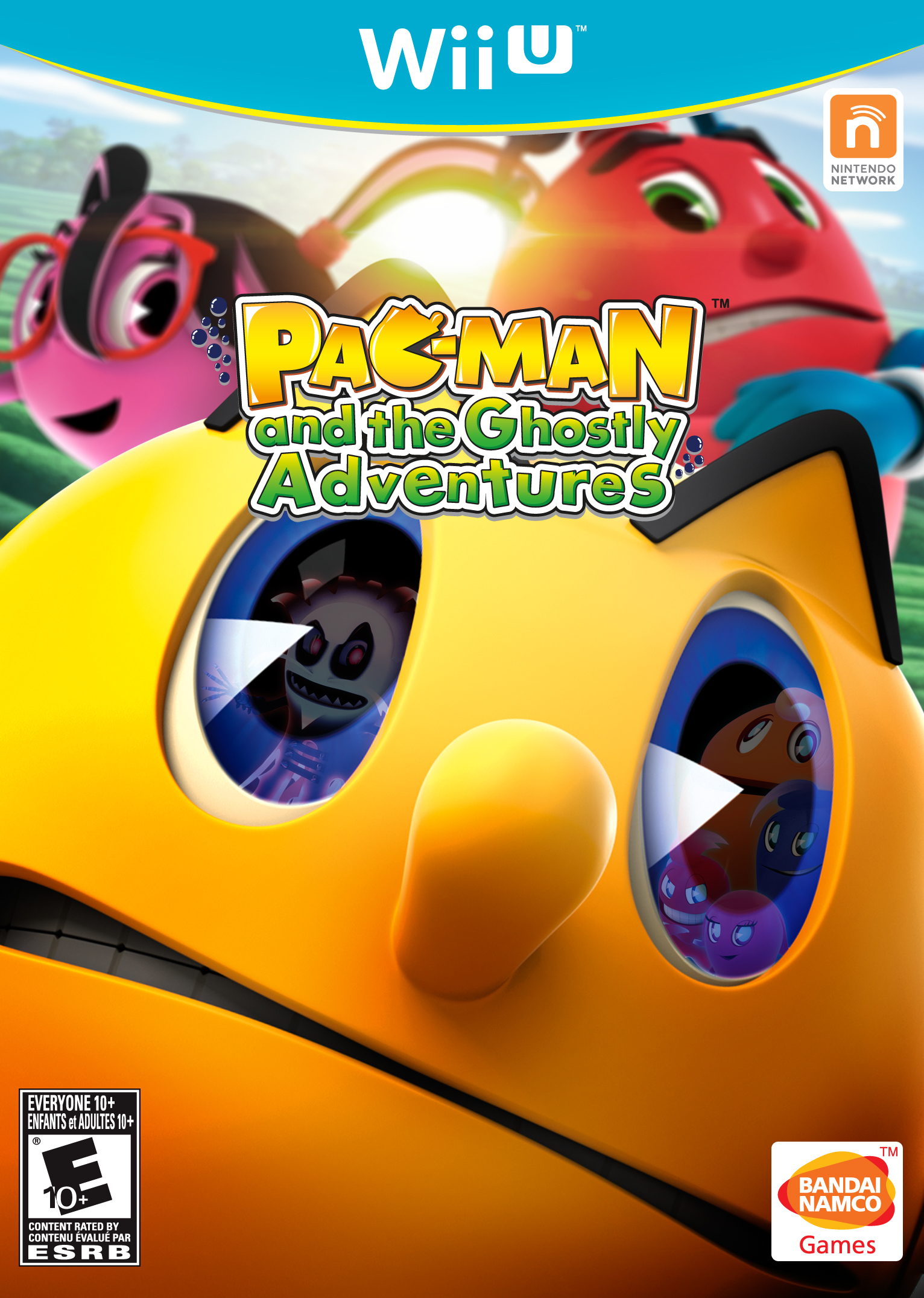 Pac-Man Box Art Wii U