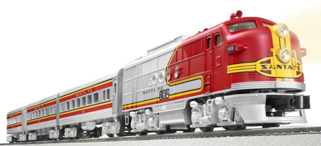 Win A Lionel Trains Santa Fe Super Chief Set Valued At