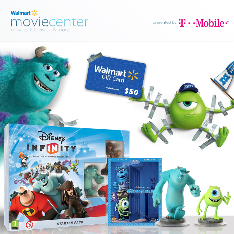 Monsters University Giveaway Walmart
