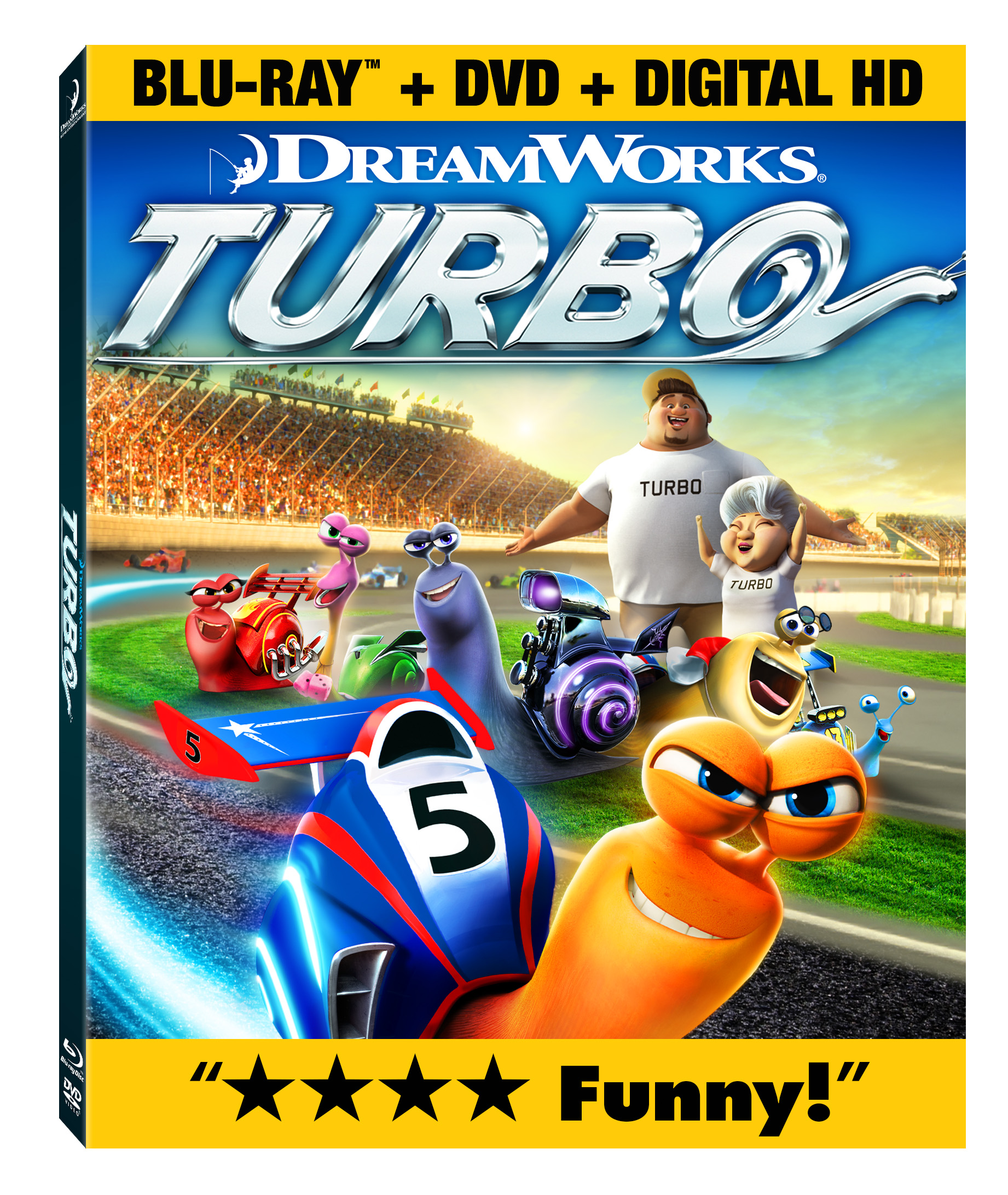 Turbo Blu-ray