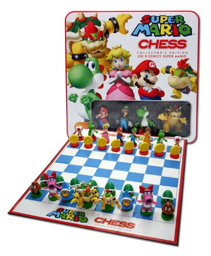 Win Super Mario Chess from USAopoly