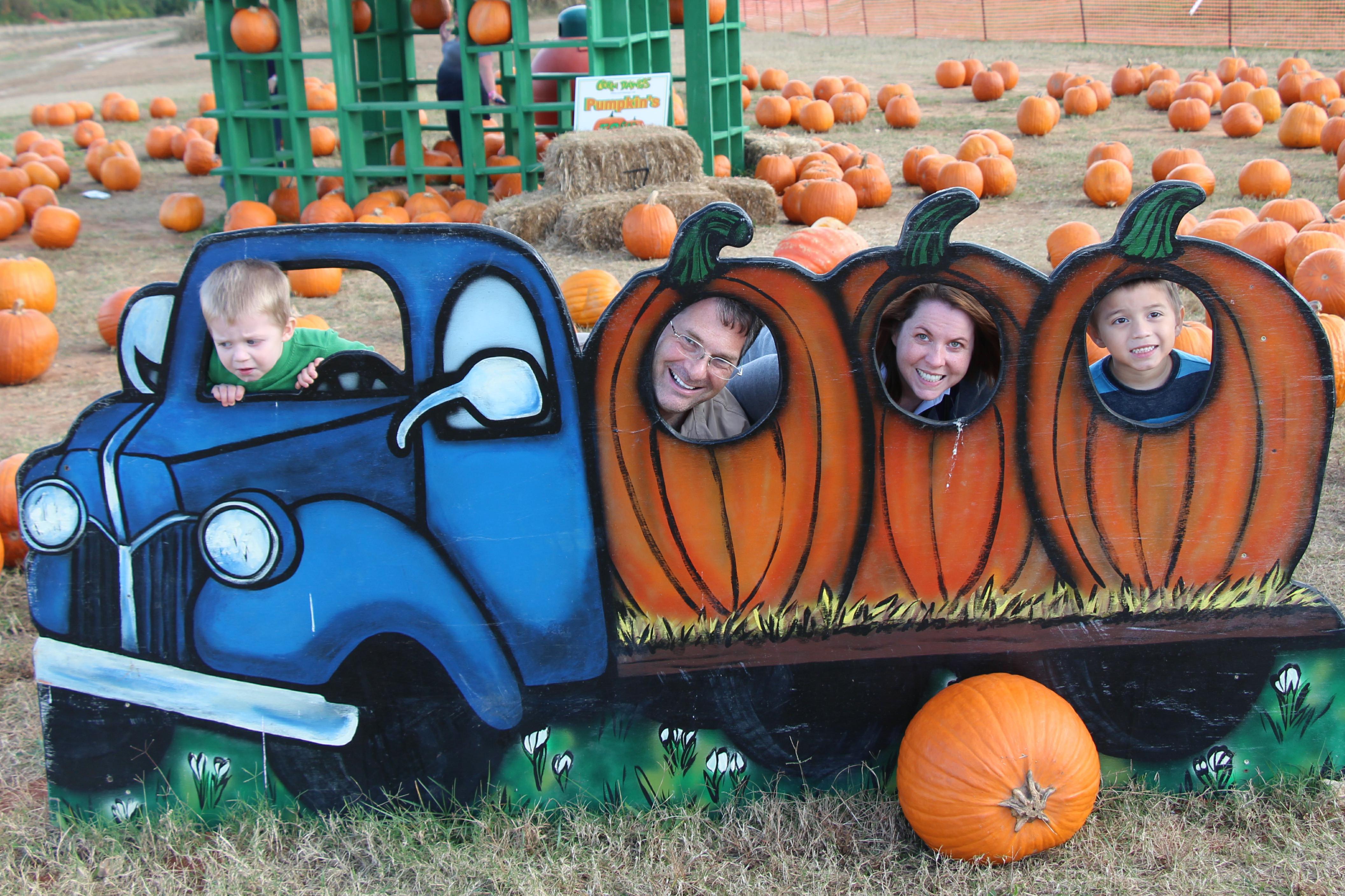 Pumpkin Truck 2
