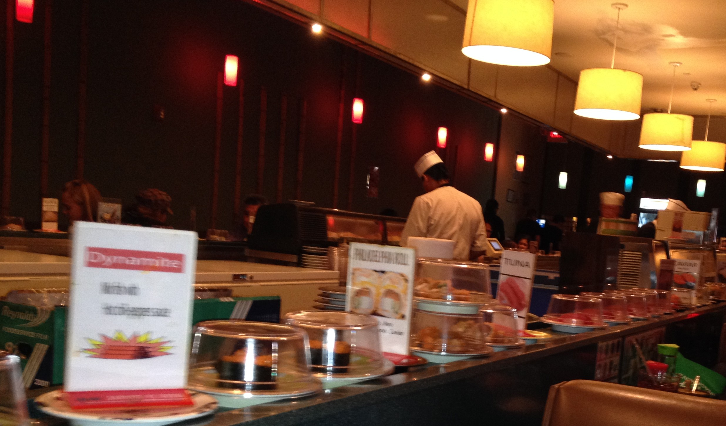 East sushi conveyor belt