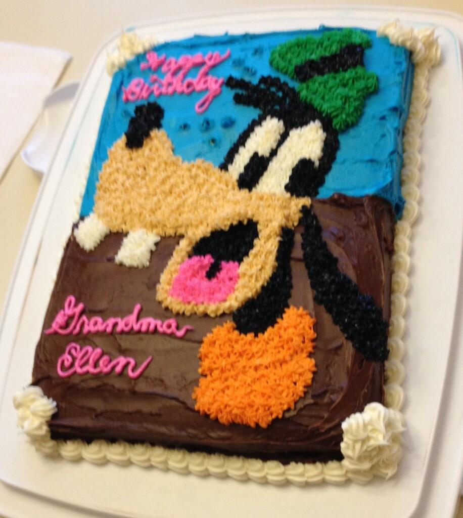 Goofy Disney cake