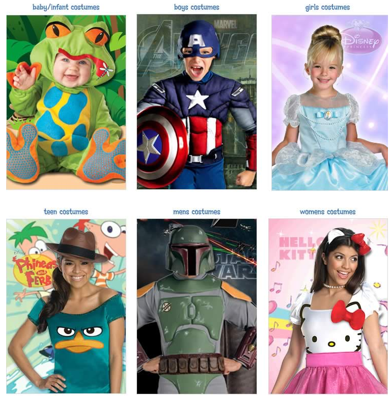 Costume for Kids and Adults at Birthday in a Box