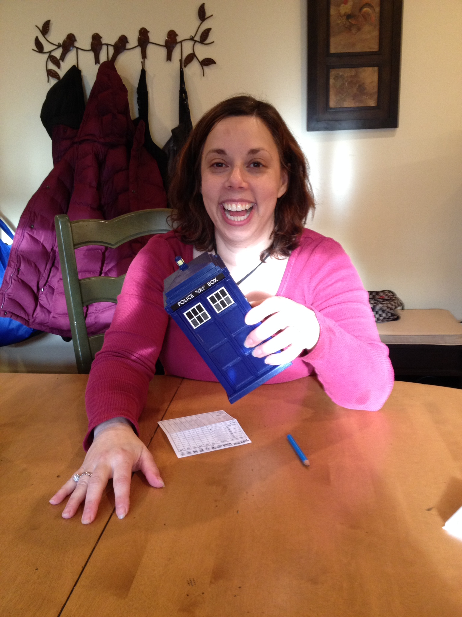 Allie Doctor Who Yahtzee