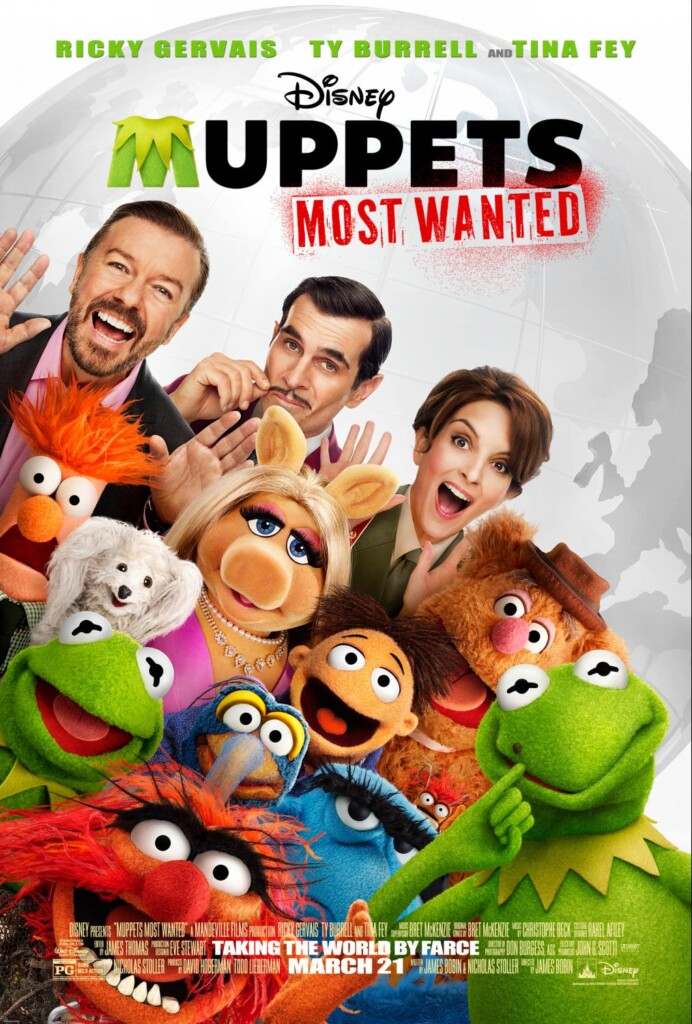 Muppets Most Wanted one-sheet