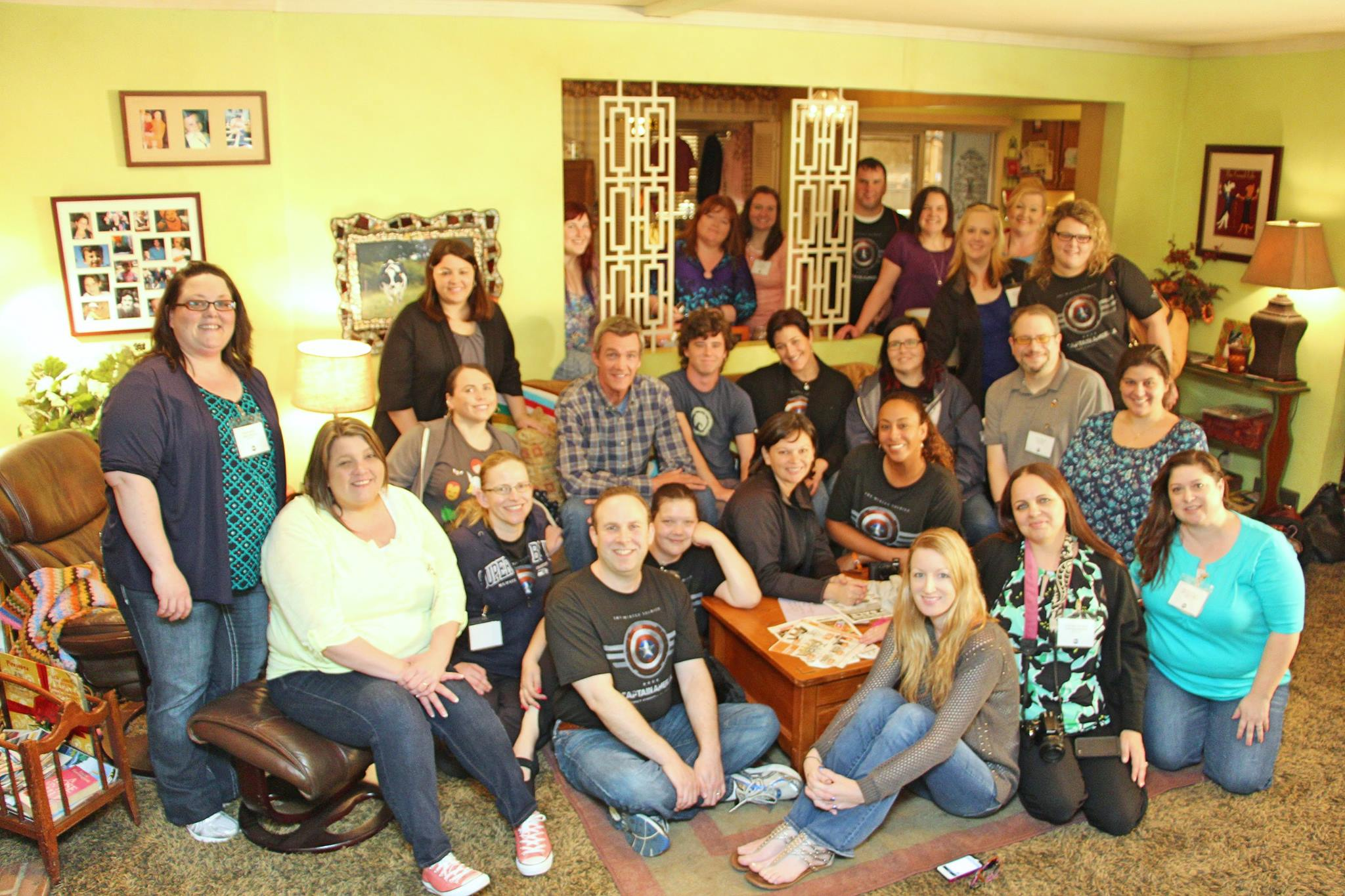 #TheMiddle Heck House Set Visit #ABCTVEvent