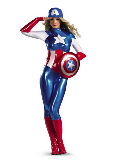 Captain America Costume for women