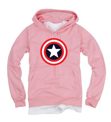 Captain America Light Cotton Hoodie