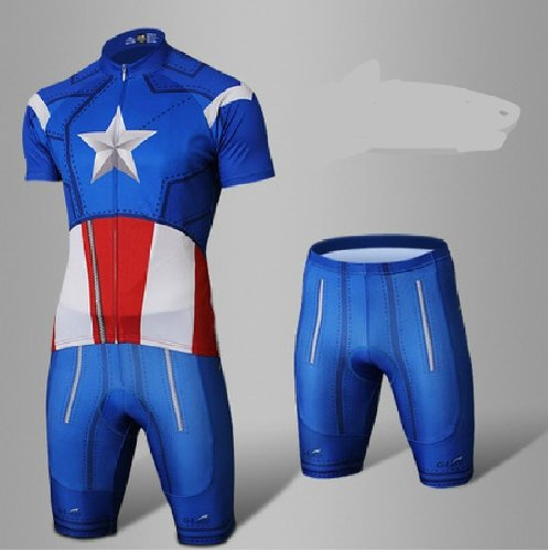 Captain America Cycling Clothes