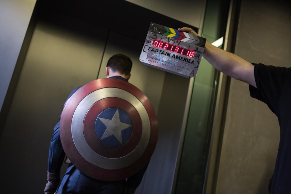 #CaptainAmericaEvent Elevator Scene