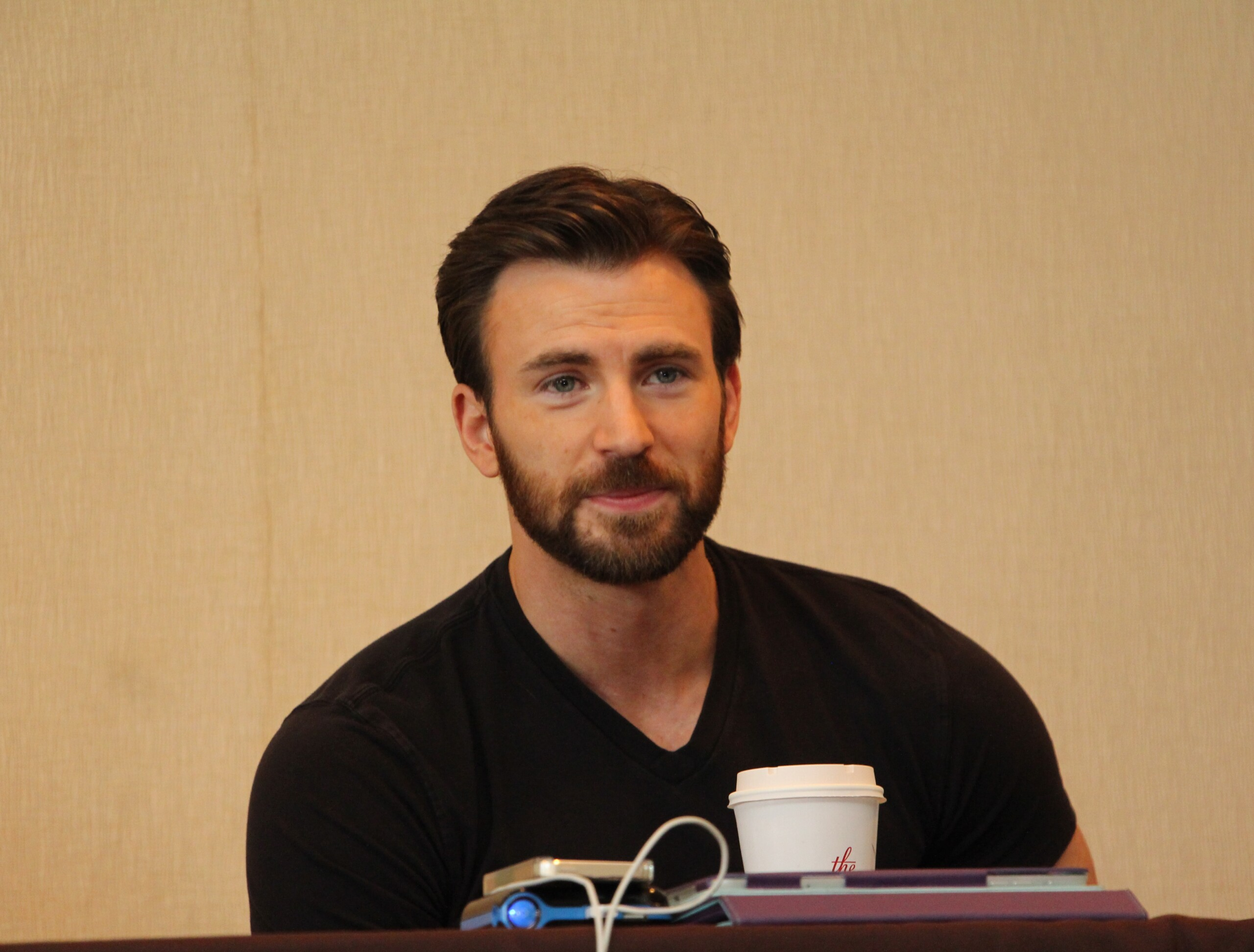 Chris Evans #CaptainAmericaEvent