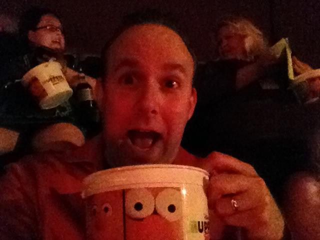 #MuppetsMostWantedEvent popcorn