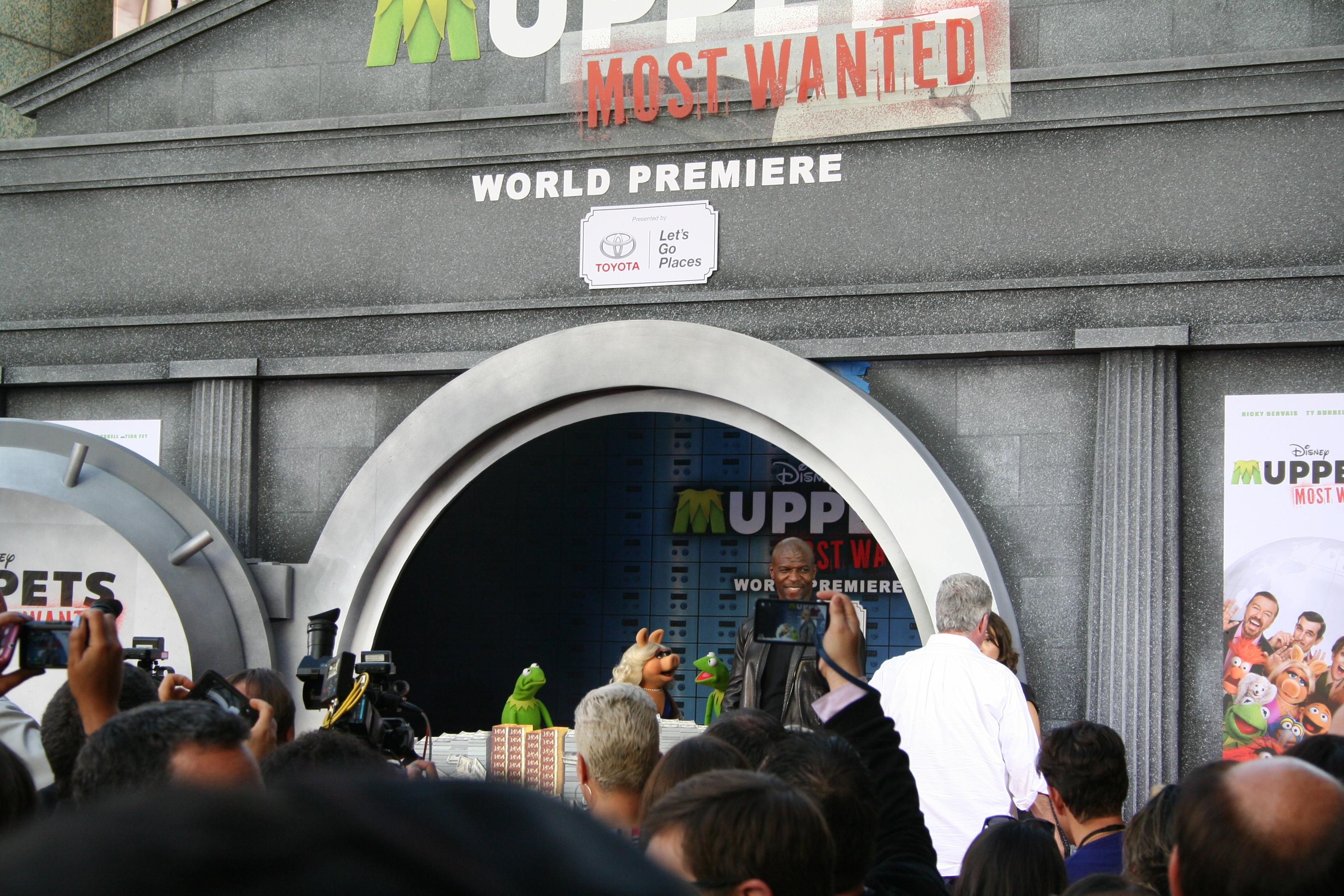 Muppets Red Carpet #MuppetsMostWantedEvent