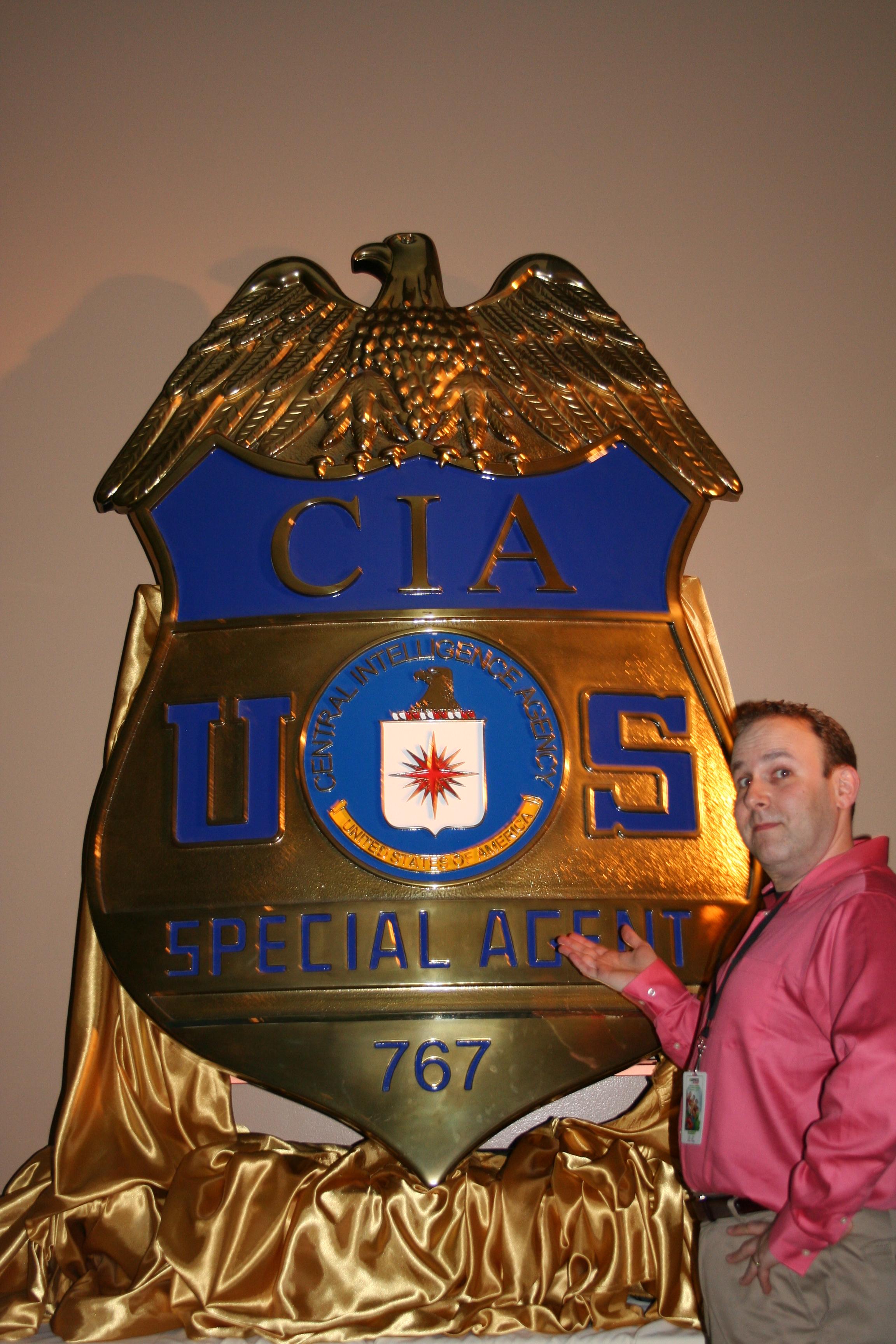 #MuppetsMostWantedEvent CIA Badge