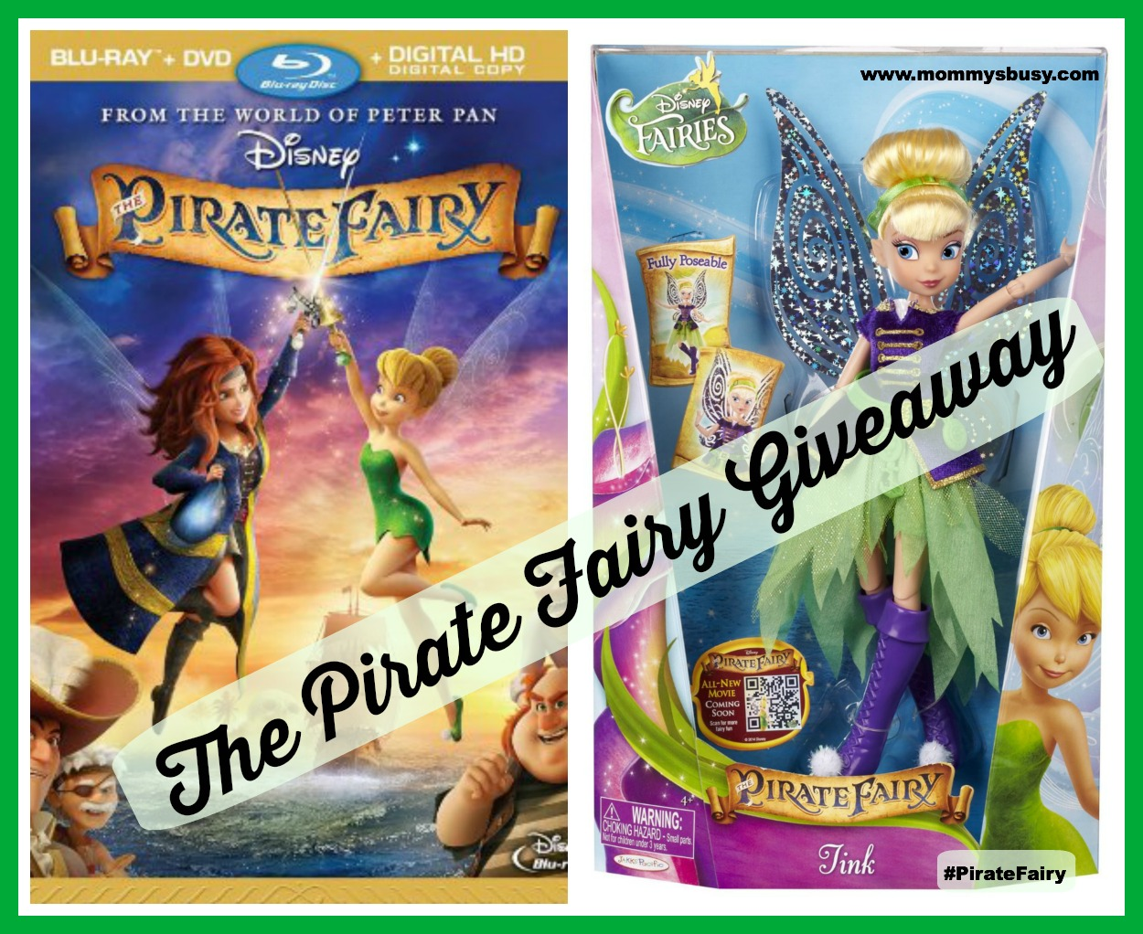 Pirate Fairy Giveaway #PirateFairy