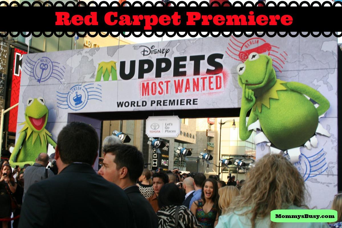 #MuppetsMostWantedEvent Red Carpet Premiere