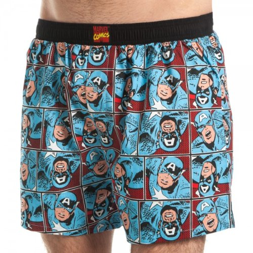 Captain America boxer shorts