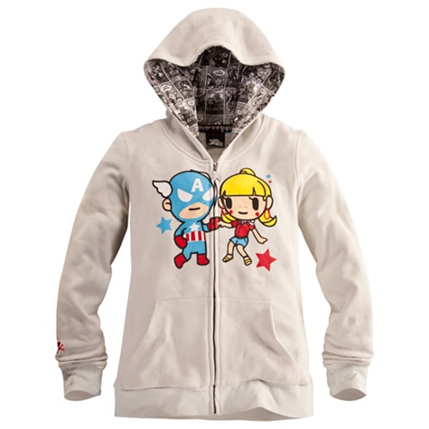 Captain America Hoodie for women