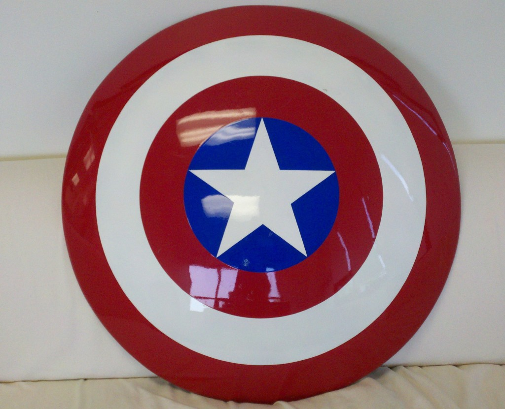 Custom Captain America Shield