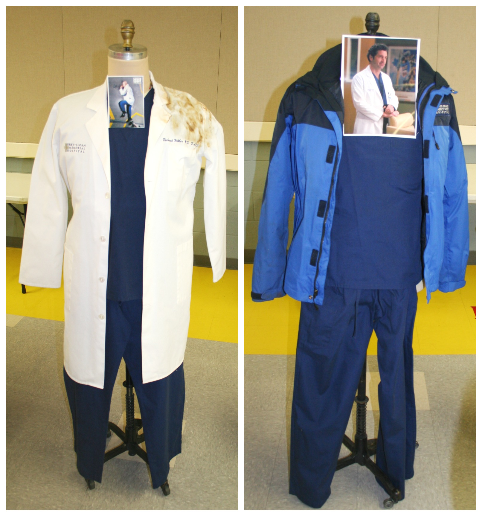 Grey's Anatomy McDreamy Clothes #ABCTVEvent