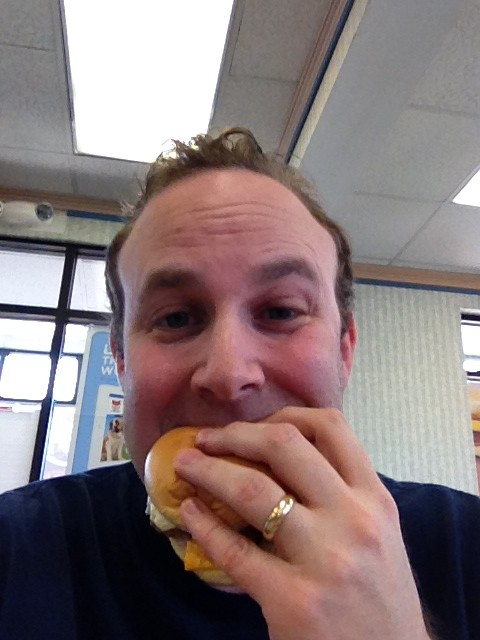 Filet-O-Fish Selfie