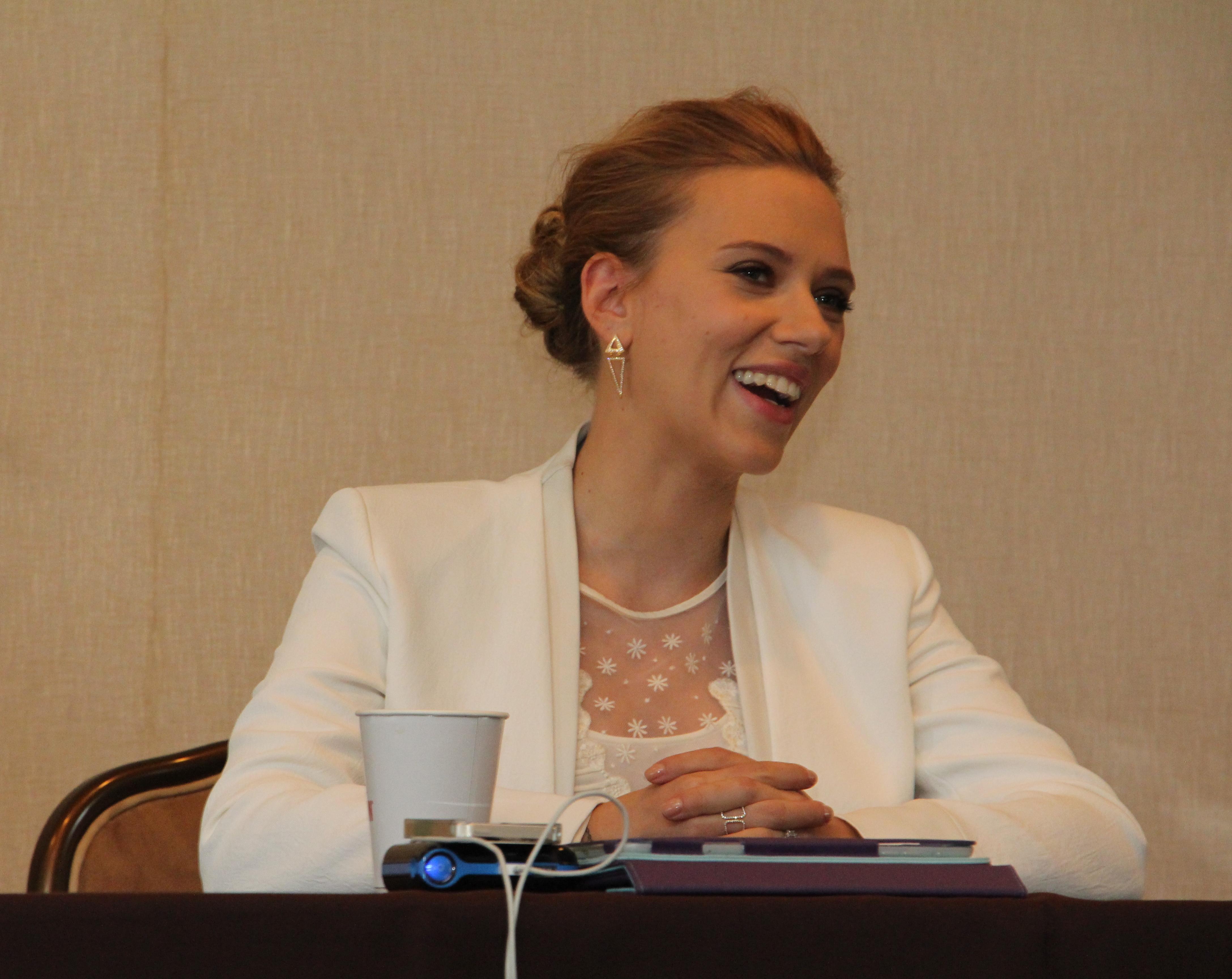 Scarlett Johansson #CaptainAmericaEvent