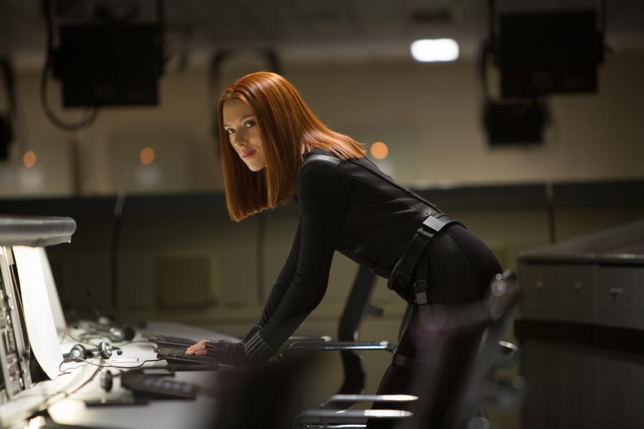 Scarlett Johansson Black Widow #CaptainAmericaEvent