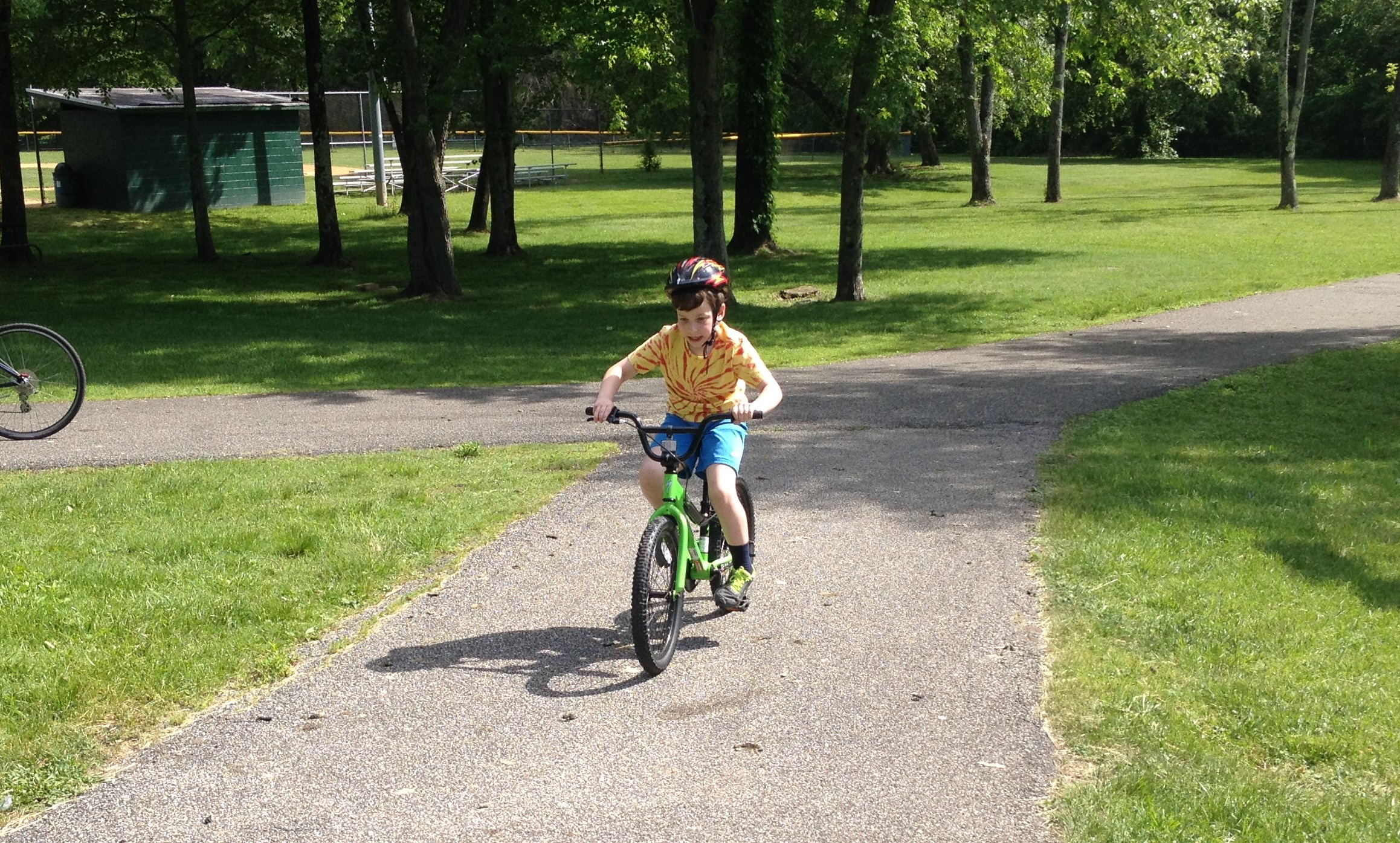bike riding #PowerofDad