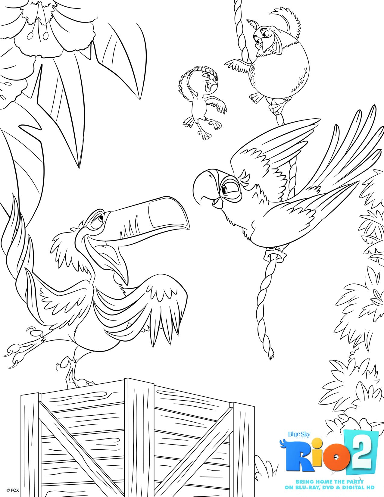 free rio 2 coloring pages mommy u0027s busy go ask daddy