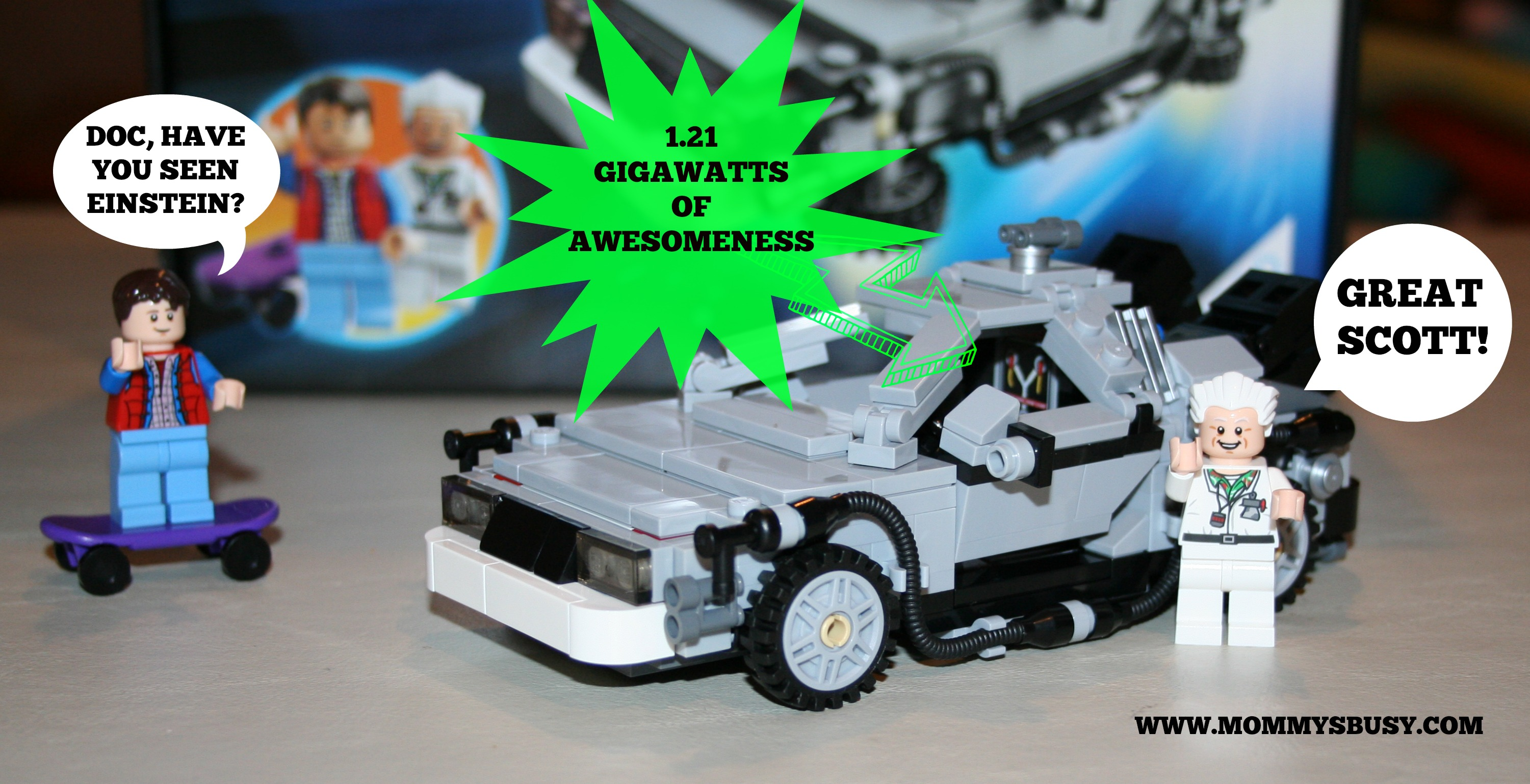 It S About Time The Lego Back To The Future Delorean